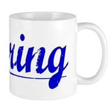 Herring, Blue, Aged Mug
