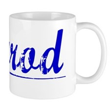 Herrod, Blue, Aged Small Mug