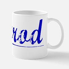 Herrod, Blue, Aged Small Small Mug