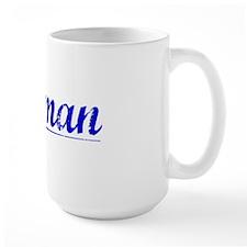 Holman, Blue, Aged Mug