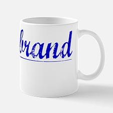 Hildebrand, Blue, Aged Mug