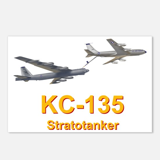 KC-135 Statotanker refuel Postcards (Package of 8)