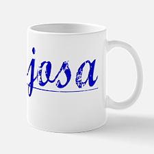 Hinojosa, Blue, Aged Mug