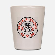 Bulldog Gym Logo Shot Glass