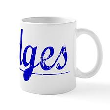 Hodges, Blue, Aged Small Mug
