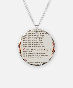 A Simple Prayer by Saint Fra Necklace