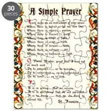 A Simple Prayer by Saint Francis of Assisi Puzzle