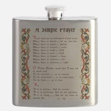 A Simple Prayer by Saint Francis of Assisi Flask