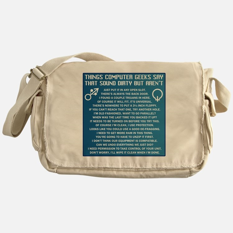 Dirty Computers Messenger Bag