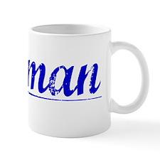 Hofman, Blue, Aged Mug