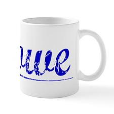 Howe, Blue, Aged Mug