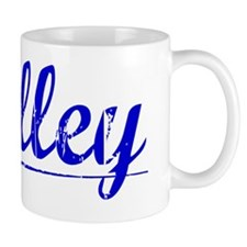 Holley, Blue, Aged Small Mug