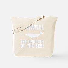 Narwhal Unicorn Tote Bag