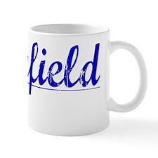 Holyfield, Blue, Aged Mug