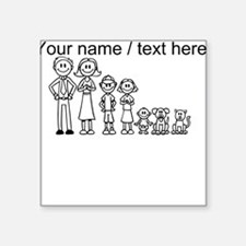 Custom Happy Family Sticker