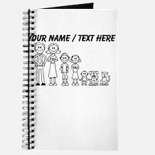 Custom Happy Family Journal