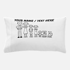 Custom Happy Family Pillow Case