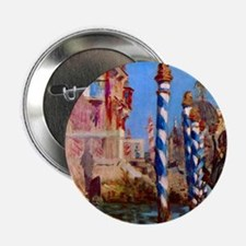 """Manet Grand Canal in Venice 2.25"""" Button"""