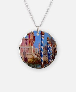 Manet Grand Canal in Venice Necklace
