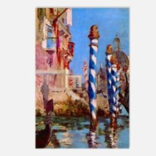 Manet Grand Canal in Veni Postcards (Package of 8)