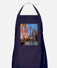 Manet Grand Canal in Venice Apron (dark)