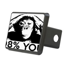 chimp98rectangle Hitch Cover