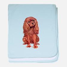 Ruby Cavalier 1 baby blanket