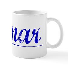 Jamar, Blue, Aged Mug