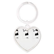 All The Single Ladies Heart Keychain