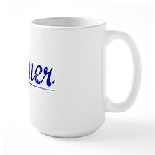 Jenner, Blue, Aged Mug