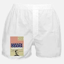 Barack Obama Mock Jazz Concert Poster Boxer Shorts