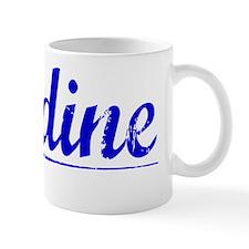 Jardine, Blue, Aged Mug
