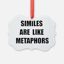 Similes Metaphors Ornament