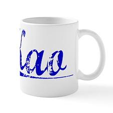 Kao, Blue, Aged Mug