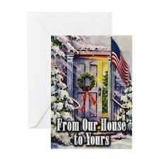 From Our Winter House to Yours Greeting Card