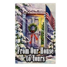 From Our Winter House to  Postcards (Package of 8)