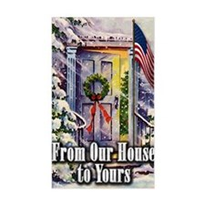 From Our Winter House to Yours Decal