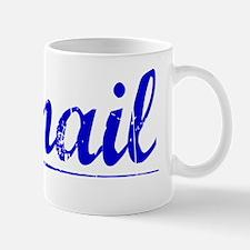 Ismail, Blue, Aged Mug