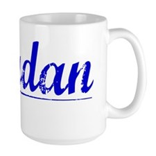 Jourdan, Blue, Aged Mug