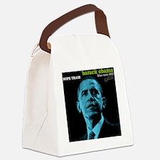 Barack Obama HOPE TRAIN Jazz Albu Canvas Lunch Bag