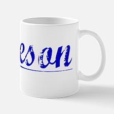 Jameson, Blue, Aged Mug