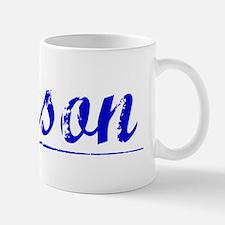 Jenson, Blue, Aged Mug