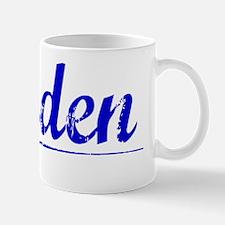 Jorden, Blue, Aged Mug