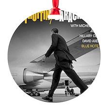 Barack Obama COOL STRUTTIN' Jazz Al Ornament