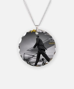 Barack Obama COOL STRUTTIN'  Necklace Circle Charm