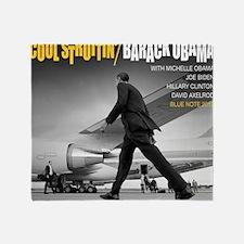 Barack Obama COOL STRUTTIN' Jazz Alb Throw Blanket