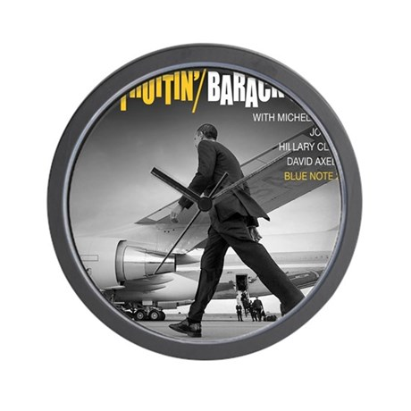 barack obama cool struttin jazz album wall clock by admin