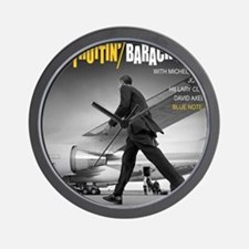 Barack Obama COOL STRUTTIN' Jazz Album  Wall Clock