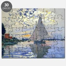 Claude Monet Sailboat Puzzle
