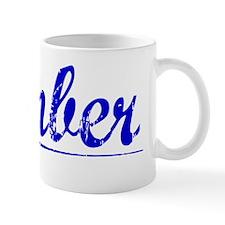 Kimber, Blue, Aged Mug